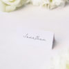 Hand Writing Cursive Script Name Place Cards Hand Writing Cursive Script Wedding Invitations