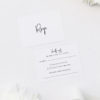 Pretty Elegant Hand Writing Wedding Invitations