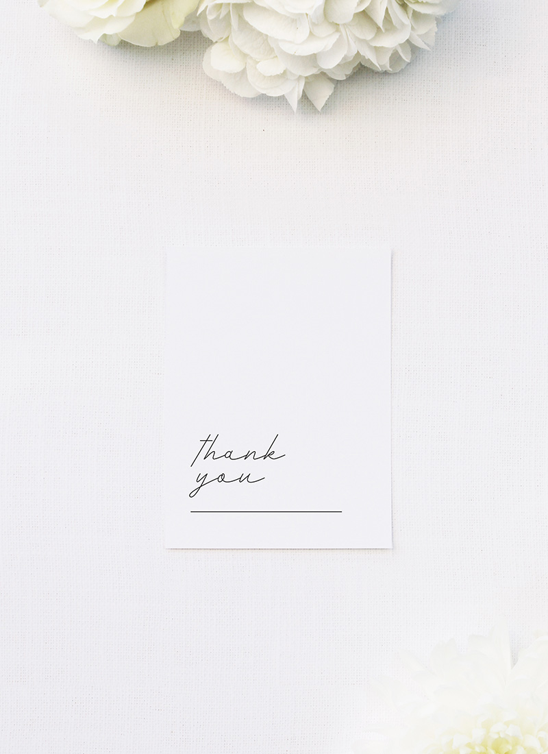 Elegant Hand Writing Cursive Wedding Thank You Cards Elegant Hand Writing Cursive Wedding Invitations