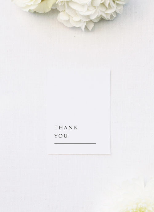Simple Minimal Classic Elegant Writing Wedding Thank You Cards Simple Minimal Classic Elegant Writing Wedding Invitations