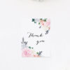 Berries Elegant Pastel Floral Wedding Thank You Cards Elegant Dahlia Pastel Floral Wedding Invitations