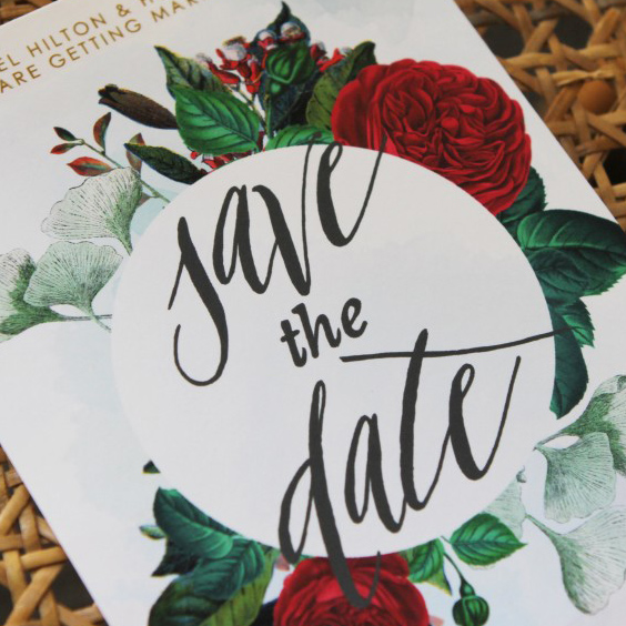 Ruby Red Invitations
