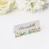 Forest Foliage Watercolour Floral Wedding Name Place Cards Forest Foliage Watercolour Floral Wedding Invitations