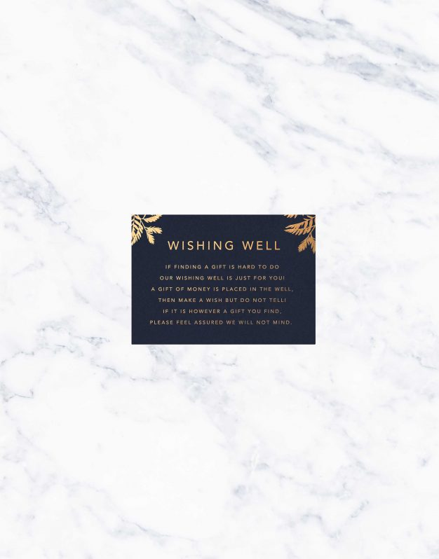 Luscious Fern Foil Wedding Invitations Foiling Bronze Rose Gold Gold Silver Invites Australia Custom Wedding Stationery