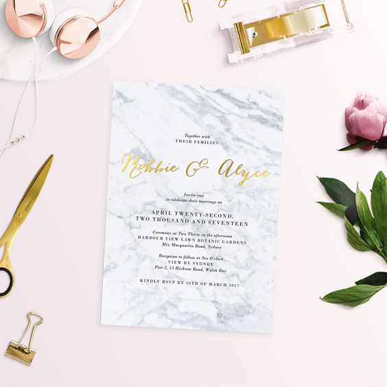 what is foil stamping foil printing foil wedding invitations australia gold wedding invitations sydney perth melbourne brisbane sail and swan