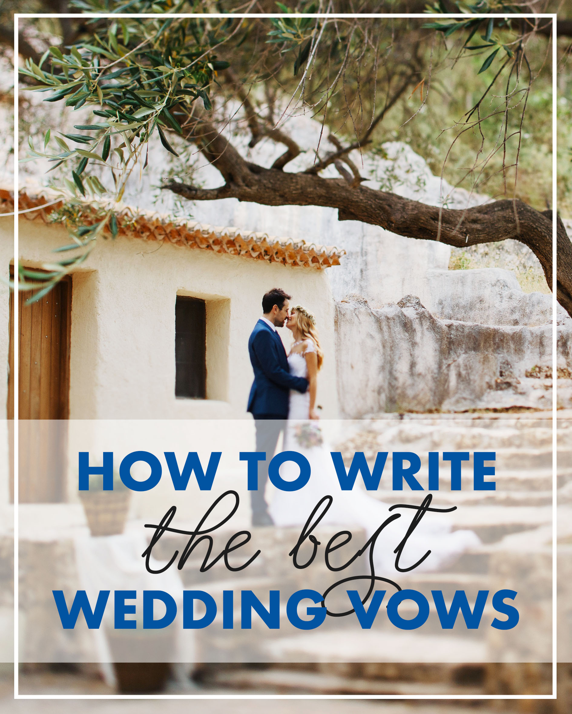 Ideas For A Small Wedding Ceremony: How To Write The Best Wedding Vows