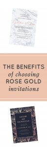 Rose Gold Invitations - The Benefits of Choosing Rose Gold Invitations