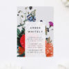 Stunning Floral Bouquet Bridal Shower Invitations