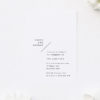 Side Names Modern Layout Engagement Invitations