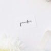 Loose Free Cursive Writing Modern Minimal Name Place Cards Loose Free Cursive Writing Modern Minimal Wedding Invitations