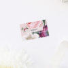 Blush Pink Rose Floral Bouquet Name Place Cards Blush Pink Rose Floral Bouquet Wedding Invitations