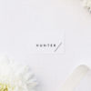 Modern Line Layout Clean Minimal Name Place Cards Modern Line Layout Clean Minimal Wedding Invitations