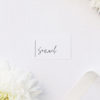 Modern Minimal Sophisticated Hand Script Name Cards Modern Minimal Sophisticated Hand Script Wedding Invitations