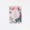 Blush Pink Rose Floral Bouquet Save the Dates Blush Pink Rose Floral Bouquet Wedding Invitations