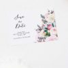 Native Floral Save the Dates Native Floral Wedding Invitations - Pretty Protea