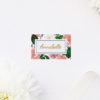 Romantic Blush Roses Elegant Wedding Name Place Cards Romantic Blush Roses Elegant Wedding Invitations