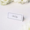 Timeless Classic Border Beautiful Calligraphy Name Place Cards Timeless Classic Border Beautiful Calligraphy Wedding Invitations