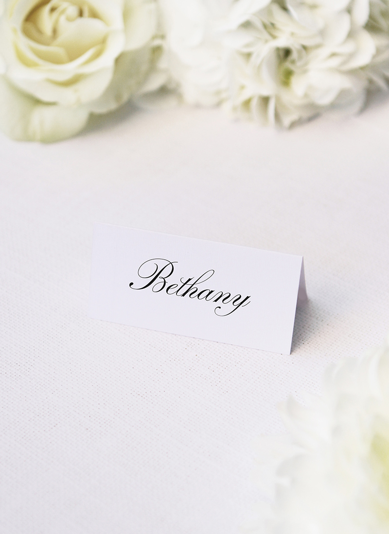 Stunning Formal Elegant Calligraphy Name Place Cards Stunning Formal Elegant Calligraphy Writing Wedding Invitations