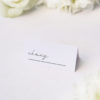 Elegant Hand Writing Cursive Name Place Cards Elegant Hand Writing Cursive Wedding Invitations