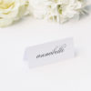 Sophisticated Cursive Calligraphy Script Formal Name Place Cards Sophisticated Cursive Calligraphy Script Formal Wedding Invitations