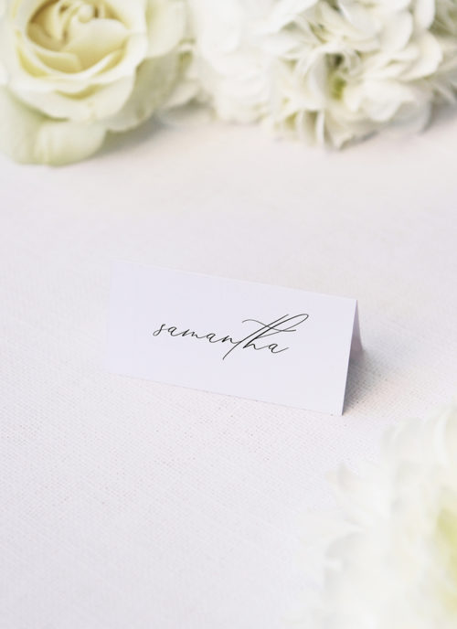 Stunning Elegant Beautiful Calligraphy Name Place Cards Stunning Elegant Beautiful Calligraphy Wedding Invitations