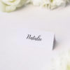 Simple Pretty Cursive Calligraphy Writing Name Place Cards Simple Pretty Cursive Calligraphy Writing Wedding Invitations