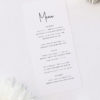 Pretty Elegant Hand Writing Wedding Menus Pretty Elegant Hand Writing Wedding Invitations