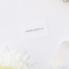 Simple Timeless Classy Name Place Cards Simple Timeless Classy Wedding Invitations