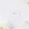 Decorative Border Elegant Calligraphy Name Place Cards Decorative Border Elegant Calligraphy Cursive Wedding Invitations