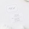 Decorative Border Elegant Calligraphy Cursive Wedding Invitations