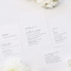 Elegant Hand Writing Cursive Wedding Invitations