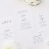 Simple Hand Script Classic Wedding Invitations