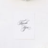 Elegant Vintage Calligraphy Script Wedding Thank You Cards Elegant Vintage Calligraphy Script Wedding Invitations