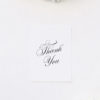 Stunning Formal Elegant Calligraphy Writing Wedding Invitations