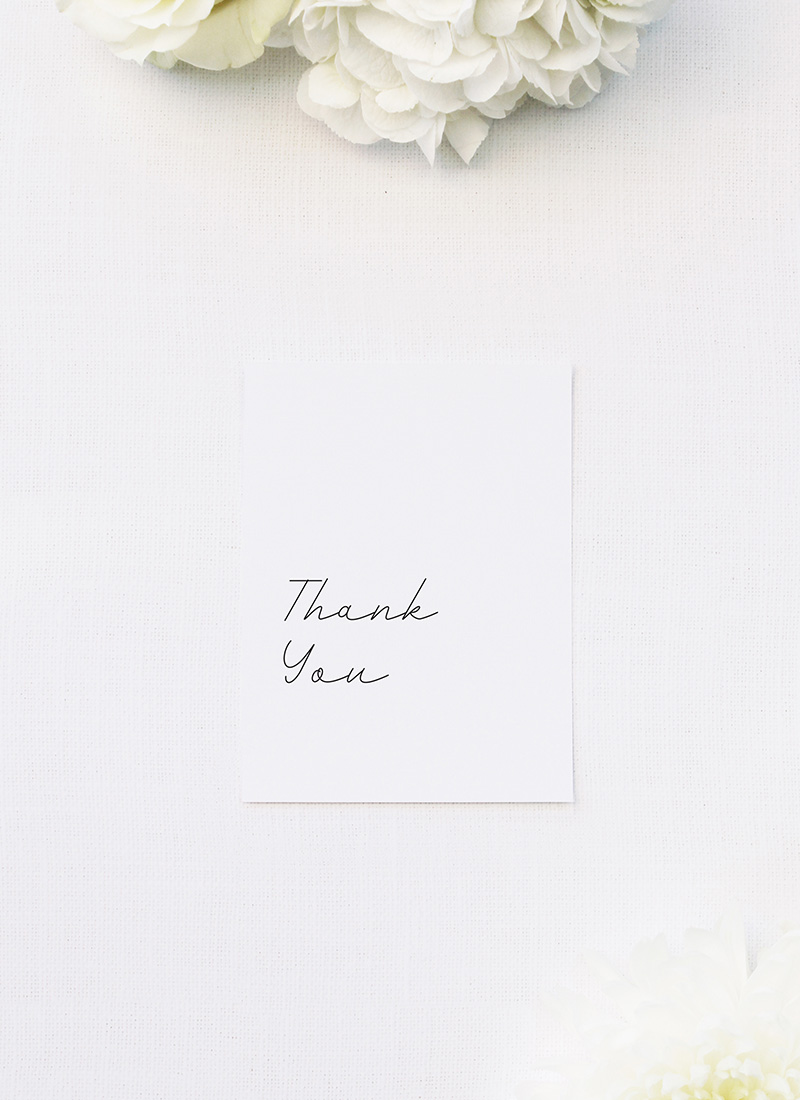 Classy Hand Writing Cursive Wedding Thank You Cards Classy Hand Writing Cursive Wedding Invitations