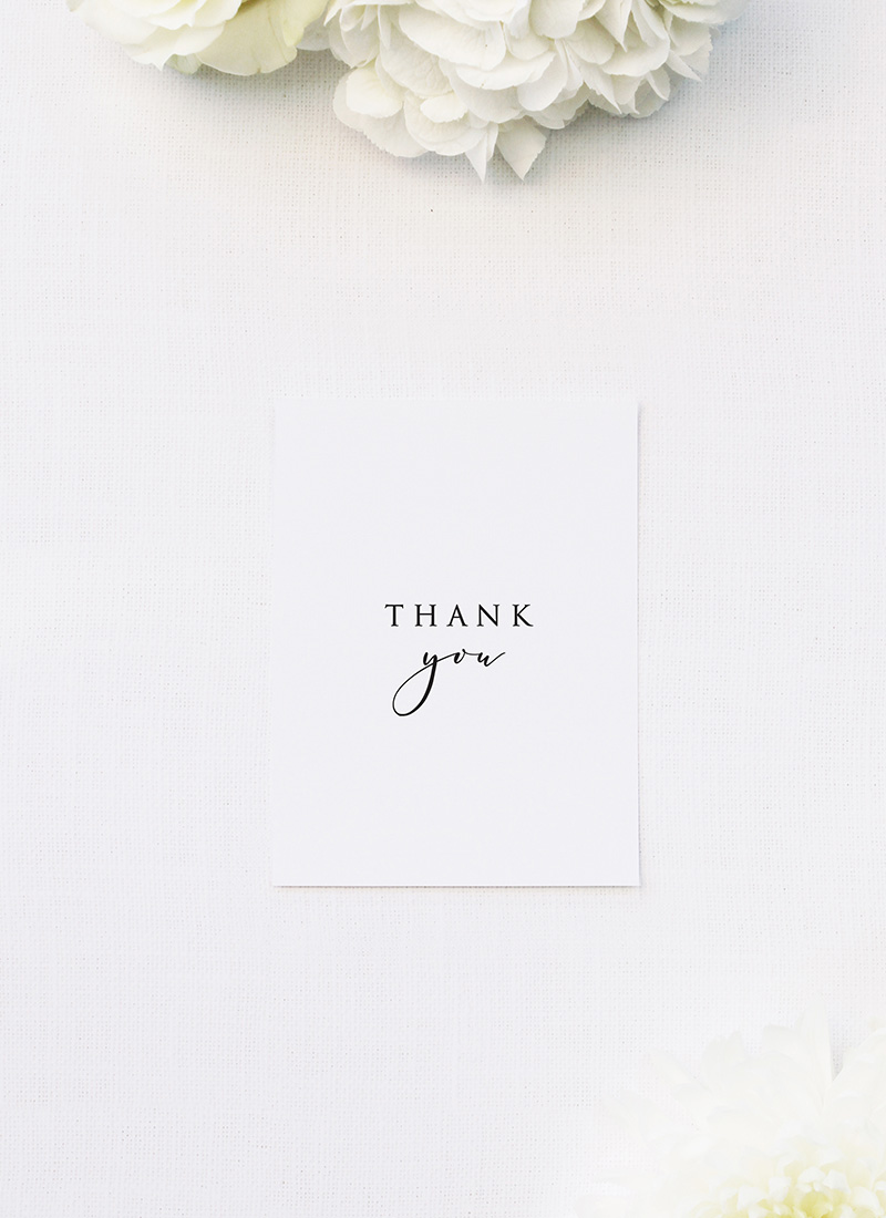 Classic Font Elegant Cursive Writing Wedding Thank You Cards Classic Font Elegant Cursive Writing Wedding Invitations