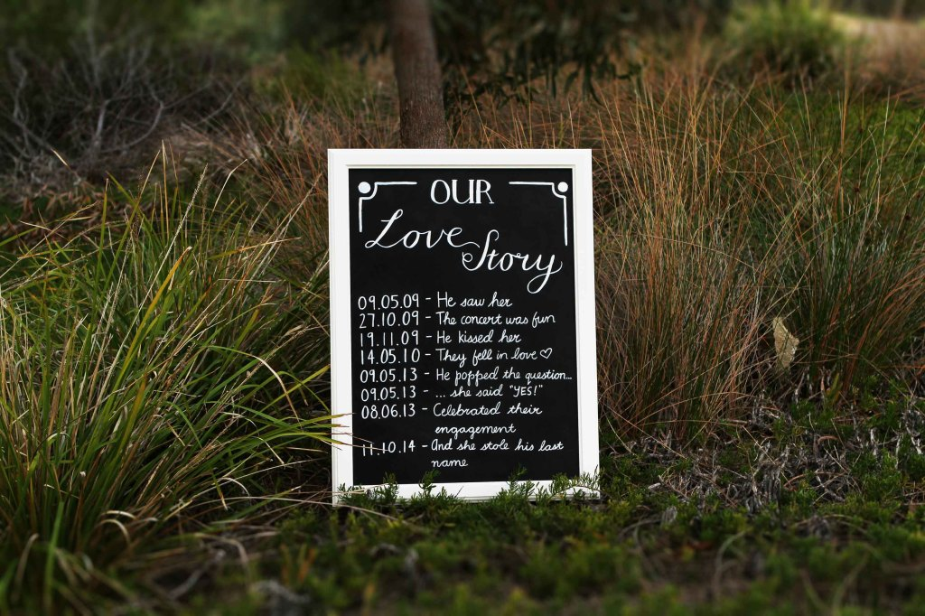 wedding chalkboard signs adelaide melbourne australia custom sail and swan
