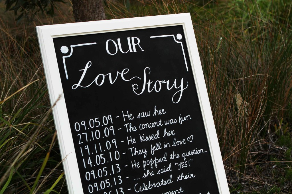 custom chalkboard wedding sign vintage adelaide melbourne sydney australia sail and swan