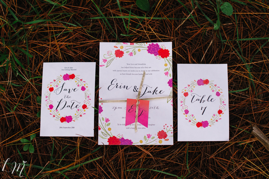 winter wedding invitations stationery adelaide sail and swan garden forest outdoors