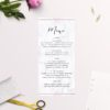 Marble Rose Gold Floral Wedding Invitations