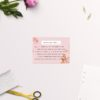 Light Pink Modern Botanical Wedding Invitations