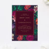 Marsala Love Burgundy Wedding Invitations