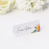 Boho Native Floral Succulent Wedding Name Place Cards Boho Native Floral Succulent Botanical Bohemian Wedding Invitations