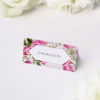 Pink Green Modern Botanical Wedding Name Place Cards Pink Green Modern Botanical Wedding Invitations
