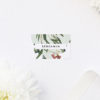 Eucalyptus Leaves Native Botanical Wedding Name Place Cards Eucalyptus Leaves Native Botanical Floral Wedding Invitations