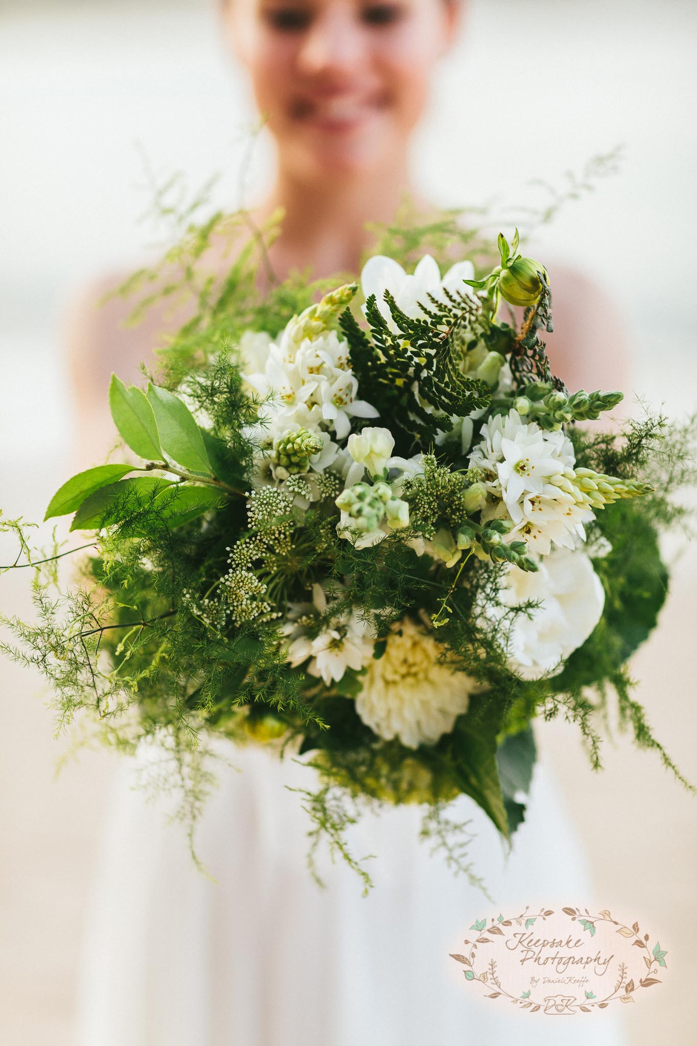 flowers bouquet floral wedding inspirations green white rustic vintage garden beach sail and swan