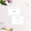 Formal Script Calligraphy Wedding Invitations