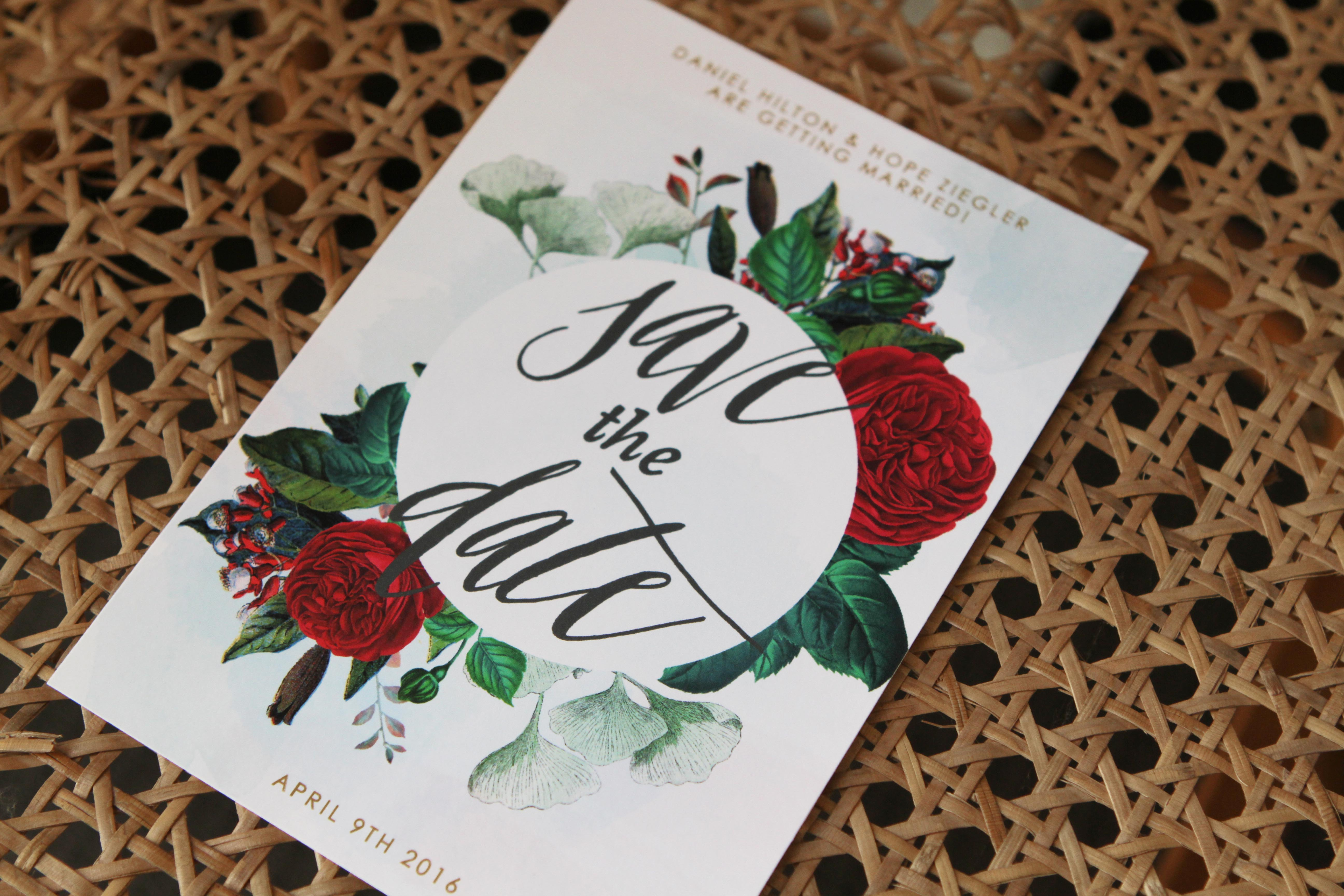 marsala red mulberry floral vintage botanical wedding invitations save the dates calligraphy modern chic glam rose leaves greenery stationery australia perth adelaide melbourne sydney sail and swan