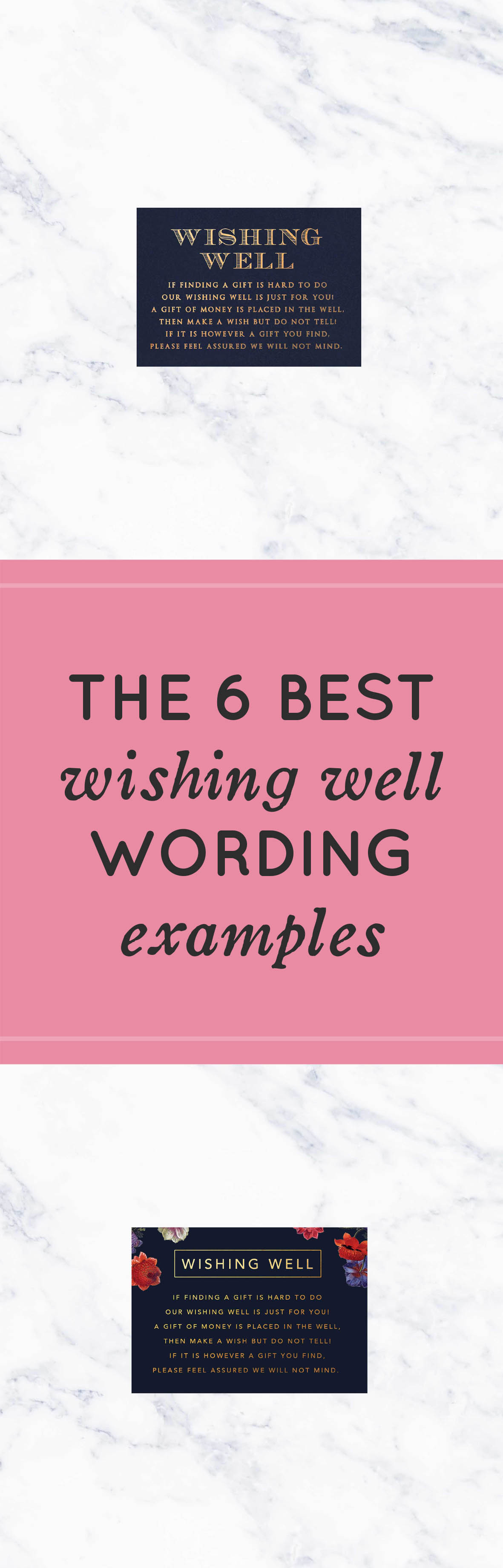 The 6 Best Wishing Well Wording Examples