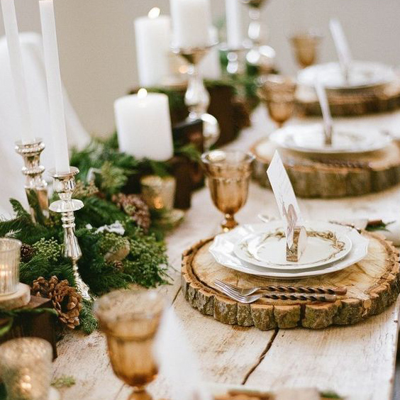 Christmas table setting ideas sail and swan studio - Christmas table setting ideas ...